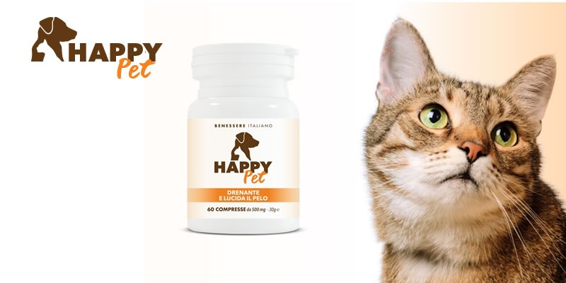 Happy Pet - Drenante e lucida il pelo