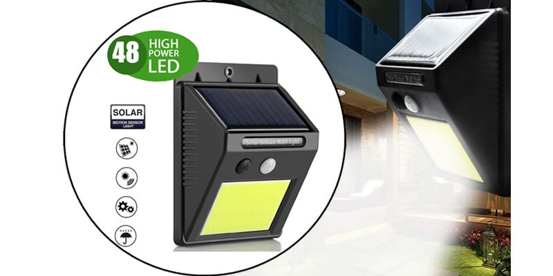 Kit Faretti Solar Power Light